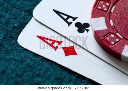 Top pairs of aces