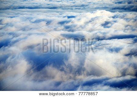 Alpine sea of clouds, El Teide National Park, Tenerife, Spain
