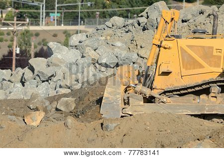 Bulldozer Rocks