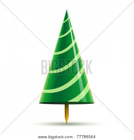 whirligig abstract christmas tree