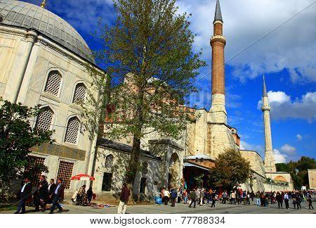 View Of The Hagia Sophia