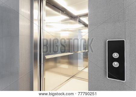 Entry To Elevator