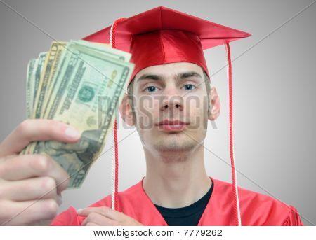 Graduado con dinero