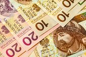 stock photo of zloty  - Money and savings concept - JPG