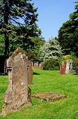 picture of trinity  - Gravestones in the grounds of Holy Trinity Church Stratford - JPG