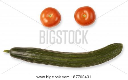 Tomatoes And Cucumber Vegetables