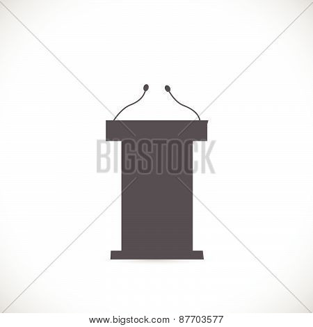 Podium Illustration