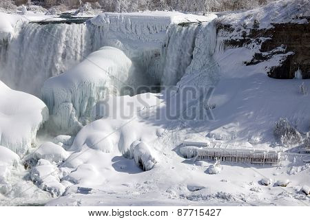Winter Niagara Falls