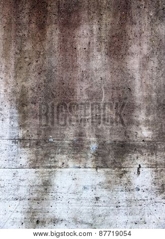 gray wall with discoloration, symbol of decay, change,