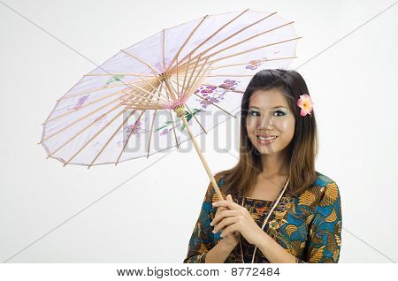 Traditional Malay Girl