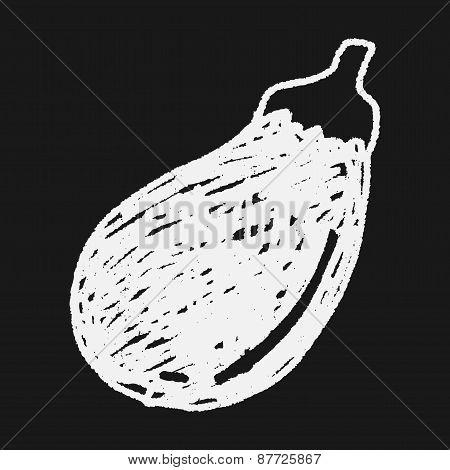 Eggplant Doodle