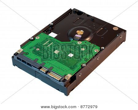 Hard Disk Drive. Hdd.