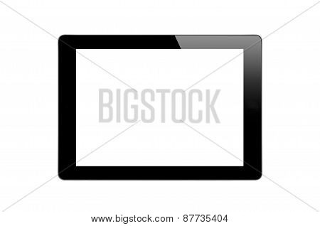 Black Touch Screen Tablet
