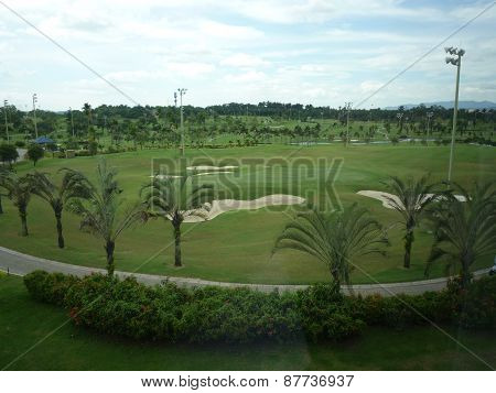 Glenmarie golf and country club in Malaysia
