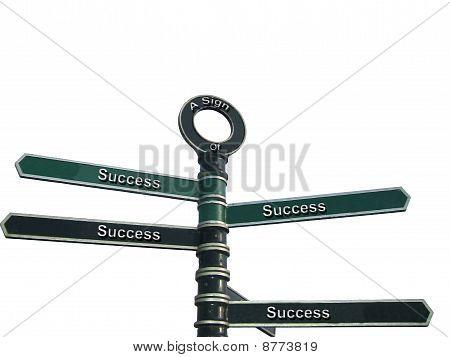 Sinais de sucesso