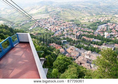 Funicular Cableway