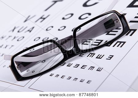 Reading Black Eyeglasses