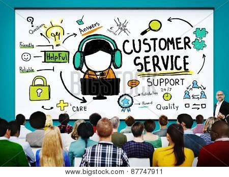 Customer Service Support Assistance Help Concept