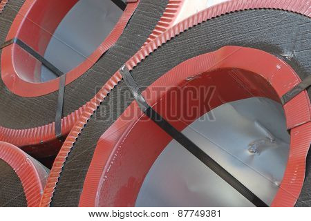 Rolled Galvanized Steel With Polymer Coating