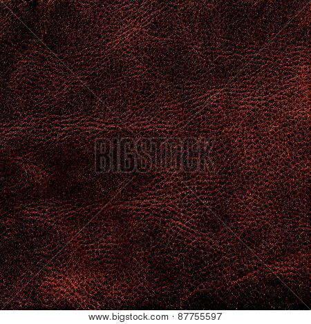 Natural Brown Leather Texture. Leather  Background Surface For Your Design, Ad, Poster, C