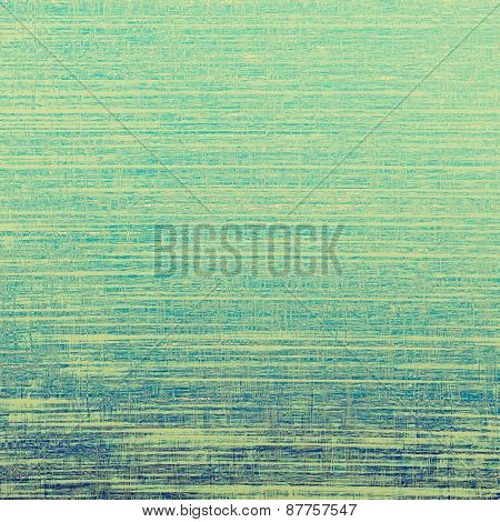 Art grunge vintage textured background. With different color patterns: green; yellow (beige); blue; cyan