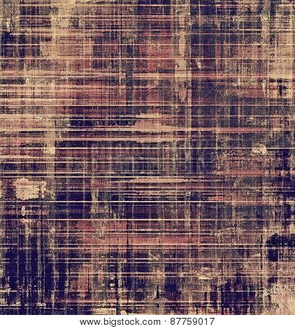Antique vintage texture, old-fashioned weathered background. With different color patterns: brown; gray; purple (violet); blue