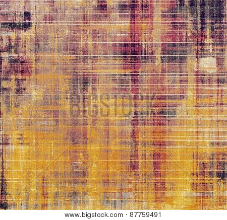 Vintage old texture with space for text or image, distressed grunge background. With different color patterns: yellow (beige); purple (violet); pink