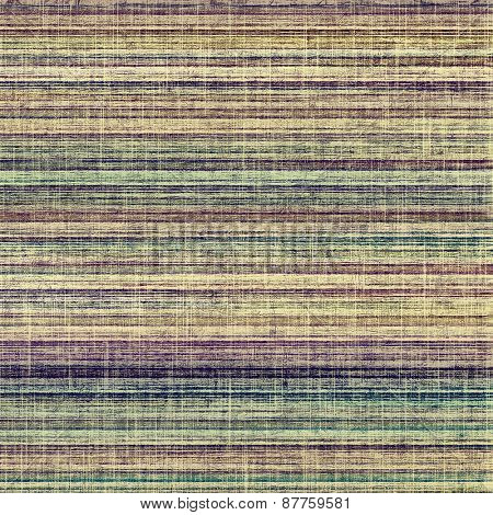 Old antique texture or background. With different color patterns: brown; green; yellow (beige); purple (violet)