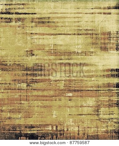 Abstract rough grunge background, colorful texture. With different color patterns: brown; gray; yellow (beige)