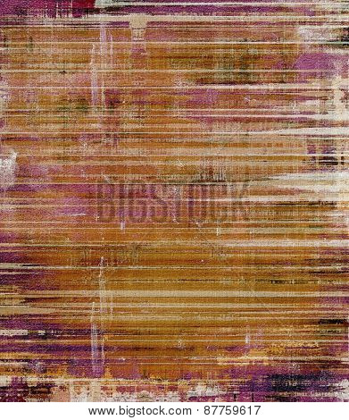 Grunge stained texture, distressed background with space for text or image. With different color patterns: brown; gray; yellow (beige); purple (violet)
