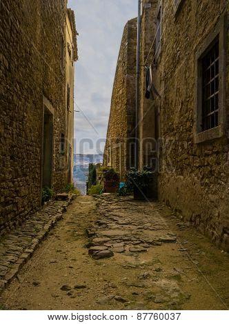 Old Street in Motovun