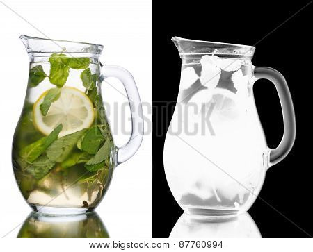 Jug Of Mojito Cocktail