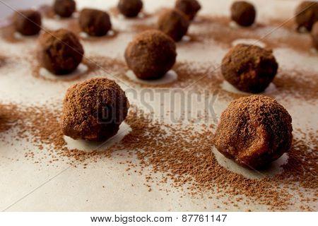 Homemade Fruffle Balls