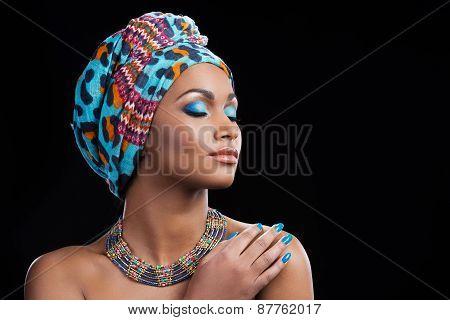 African Beauty.