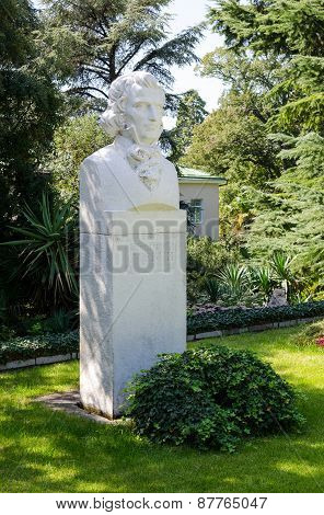 Monument To Christian Steven. Nikitsky Botanical Garden.