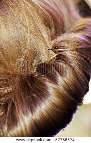 Rolled Hairstyle