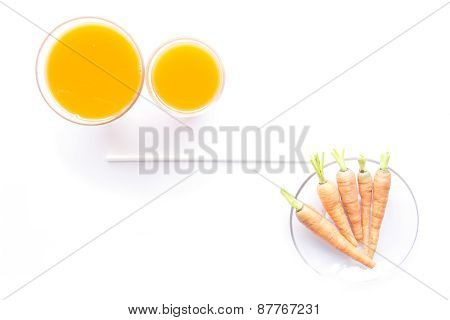 Baby Carrots And Juice Sized Set
