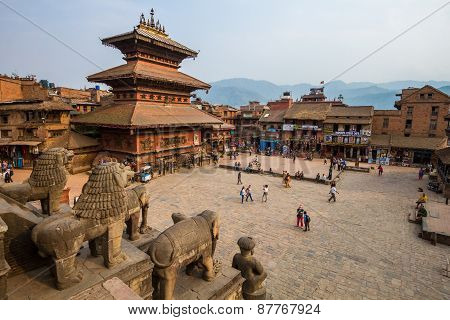 Temple at Bhaktapur