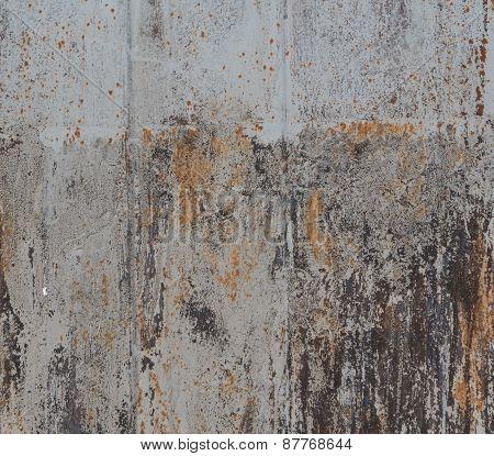 Rusty Steel Background