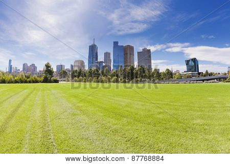 Melbourne in the daytime