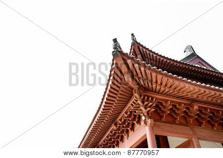 Ancient Architecture Chinese Style Eaves
