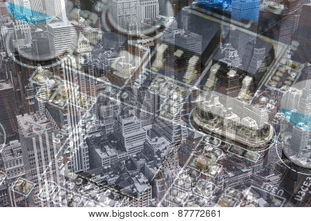 Computer Motherboard And Nyc Collage