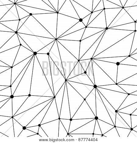 Geometric Mesh Seamless Pattern