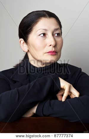 Portrait of attractive  woman asian appearance