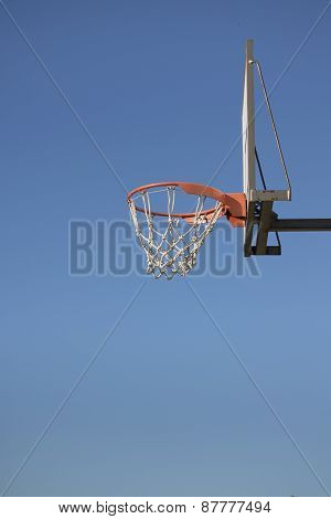 Outdoors Basketball Basket
