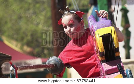 A Joust Ride At The Arizona Renaissance Festival