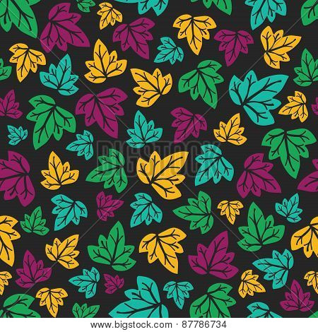 Ornate Floral Seamless Texture, Vector Illustration.