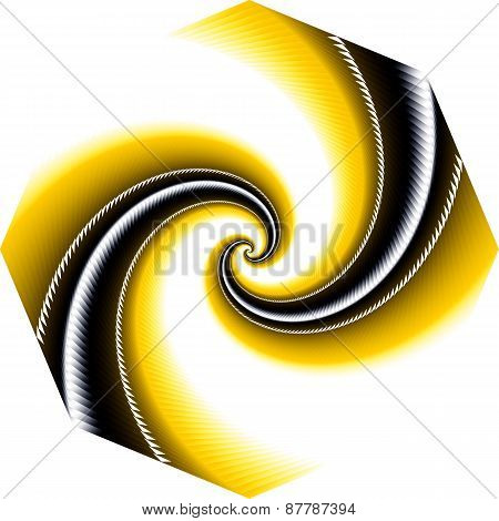 Abstract Background From Two Spirals.