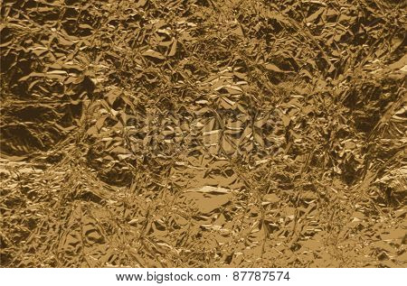 Golden texture with copy space Vector illustration