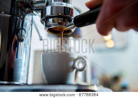 Porta Filter Espressomachine